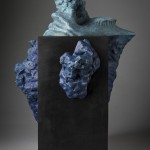 Bronze sculpture of an Iceberg underwater by the artist Anthony Smith
