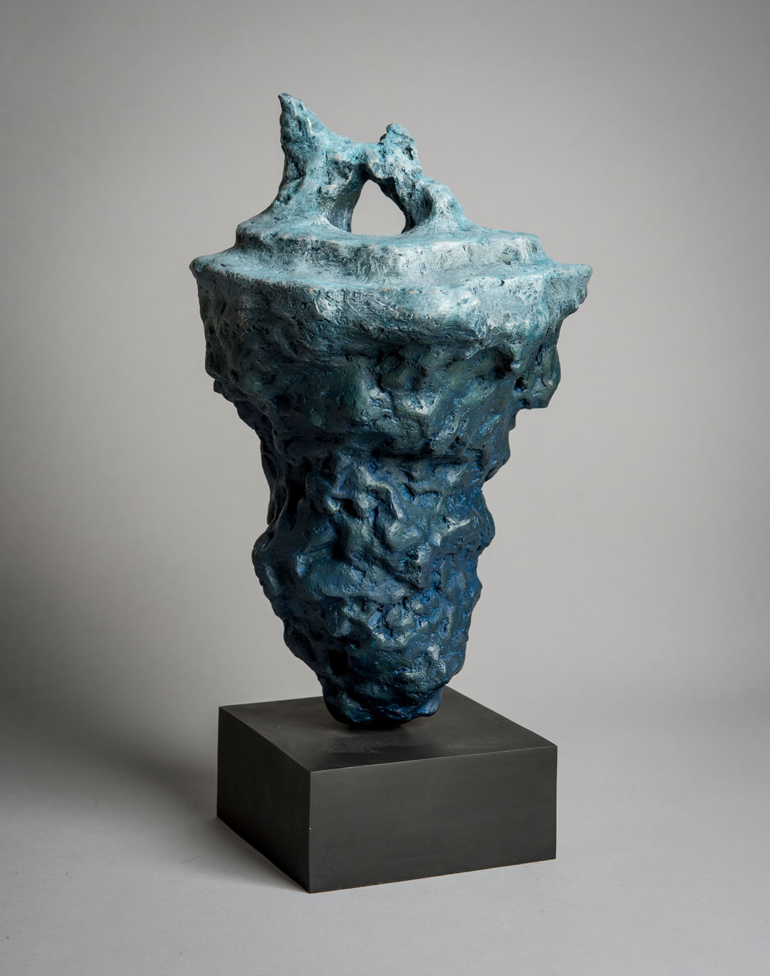 Bronze sculpture of an Iceberg by the artist Anthony Smith
